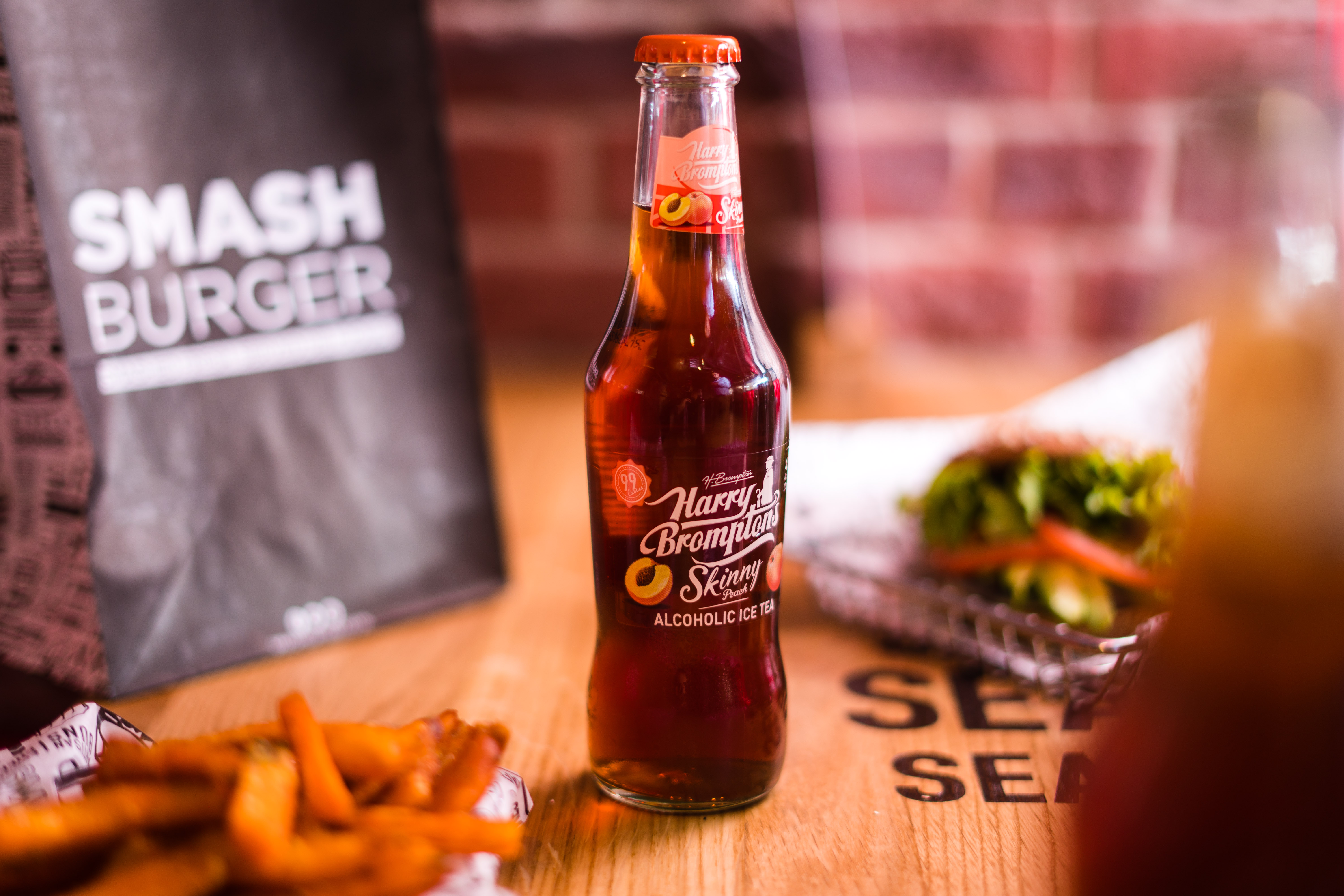 food and drink from Smashburger