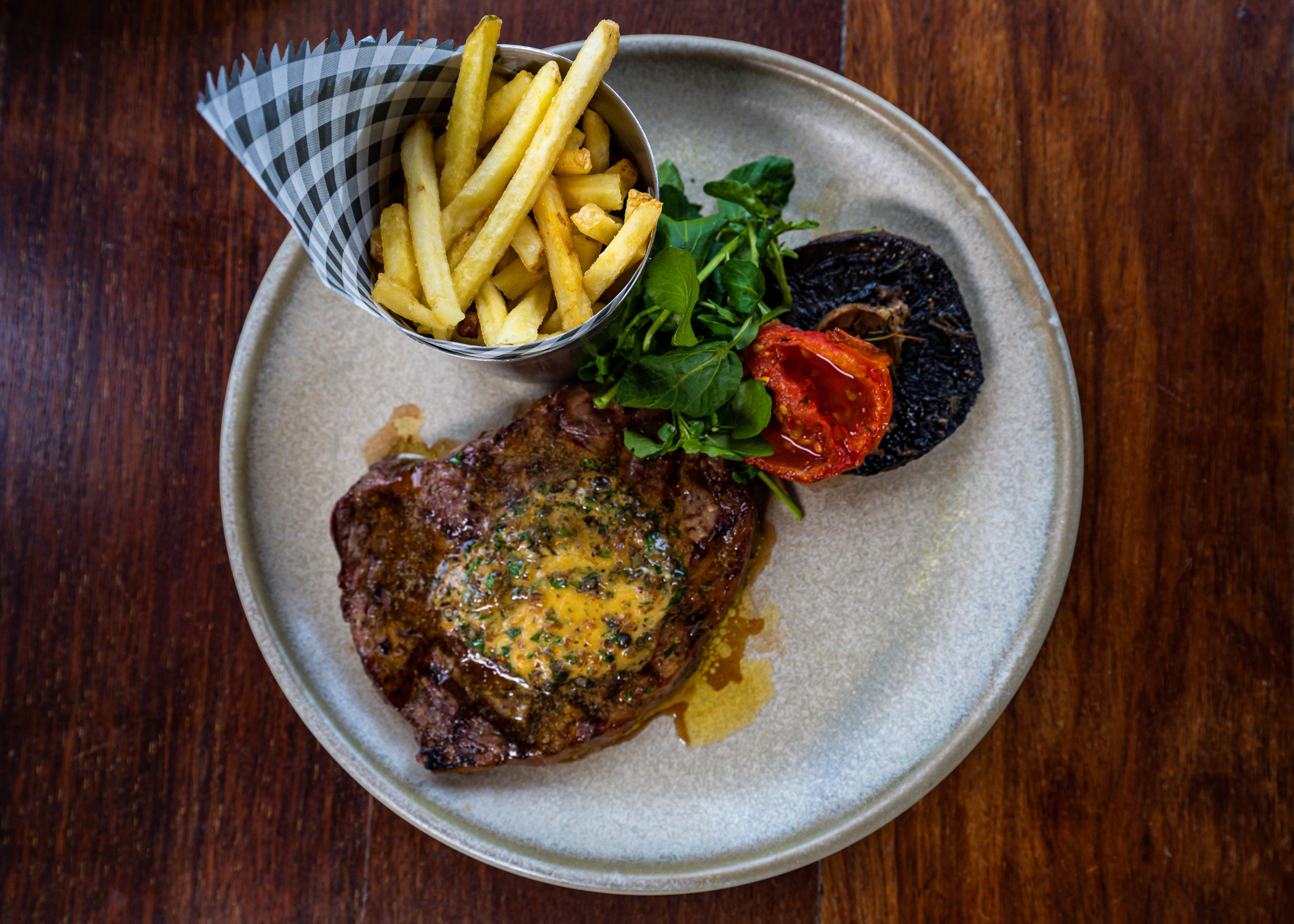 The steak and fried from The Union