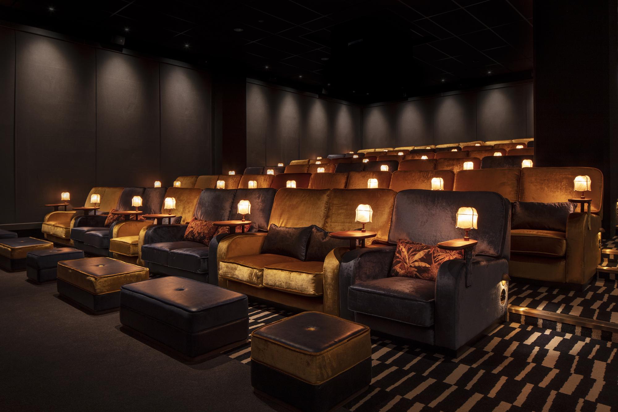 Tivoli cinema seats